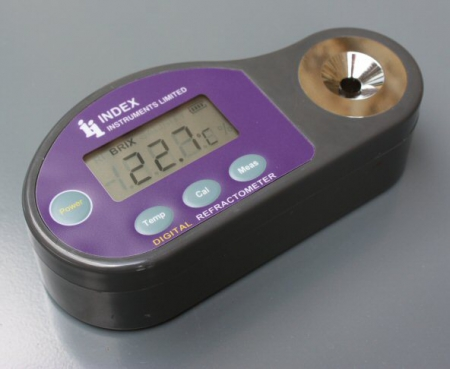 DR-112 - 28-65% Brix and 1.377-1.453 RI Digital Refractometer