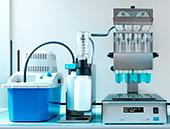 Дигестор VELP DK 18/26 и система нейтрализации дыма