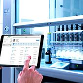 Удалённое управление автоматическим анализатором (экстрактором) жира VELP SER 158/6